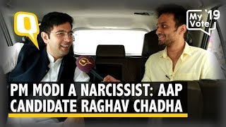 PM Modi is a Narcissist: AAP's South Delhi Candidate Raghav Chadha | The Quint