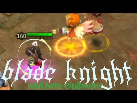 Castle Clash New Hero BLADE KNIGHT (equipment Hero)