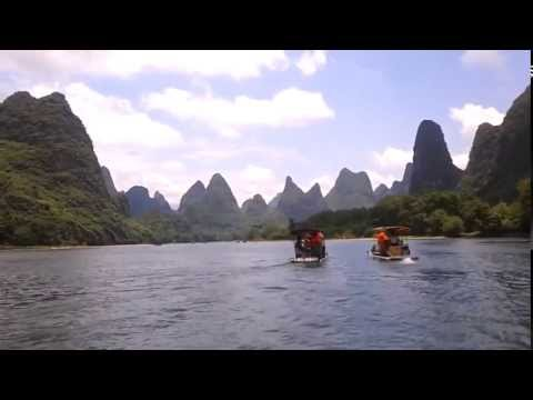 Guilin Mountains, China - Wonder of Asia / 桂林山