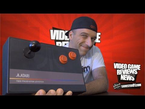 Atari 7800 ProSystem Arcade Joystick Review - Gamester81