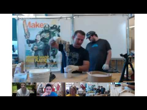 Maker Camp 2013: Fun with Casting and Molding