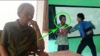 Virall!! Sosok Joko, Guru yang Dikeroyok Murid di SMK NU 03 Kaliwungu Kendal 'Mereka Hanya Becanda'