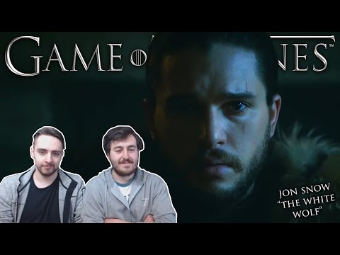 """""""Jon Snow: The White Wolf"""" - Game of Thrones REACTION"""