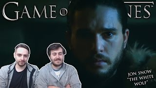 """Jon Snow: The White Wolf"" - Game of Thrones REACTION"