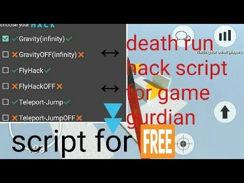 Deathrun portable hack with game guardian  Game guardian script for  Deathrun portable