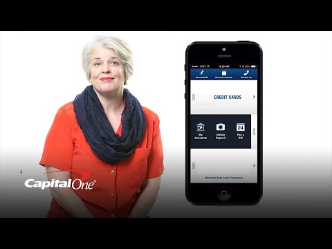 Deposit Checks Using Your Mobile Device   Capital One