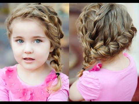 красивые прически фото детские