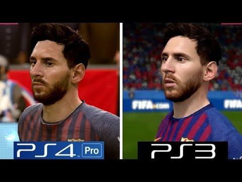 FIFA 19 | PS4 Pro VS PS4 VS PS3 | Graphics Comparison ... |Ps4 Graphics Vs Ps3 Fifa 14
