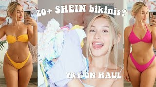 SHEIN bikini try-on haul 2020