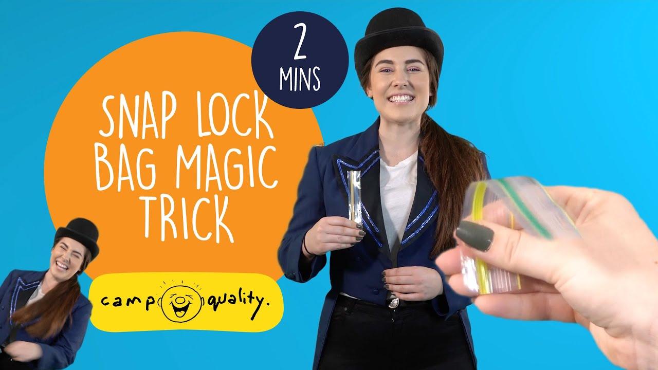 'Mr Magic Plastic' - Simple Kids' Magic Trick