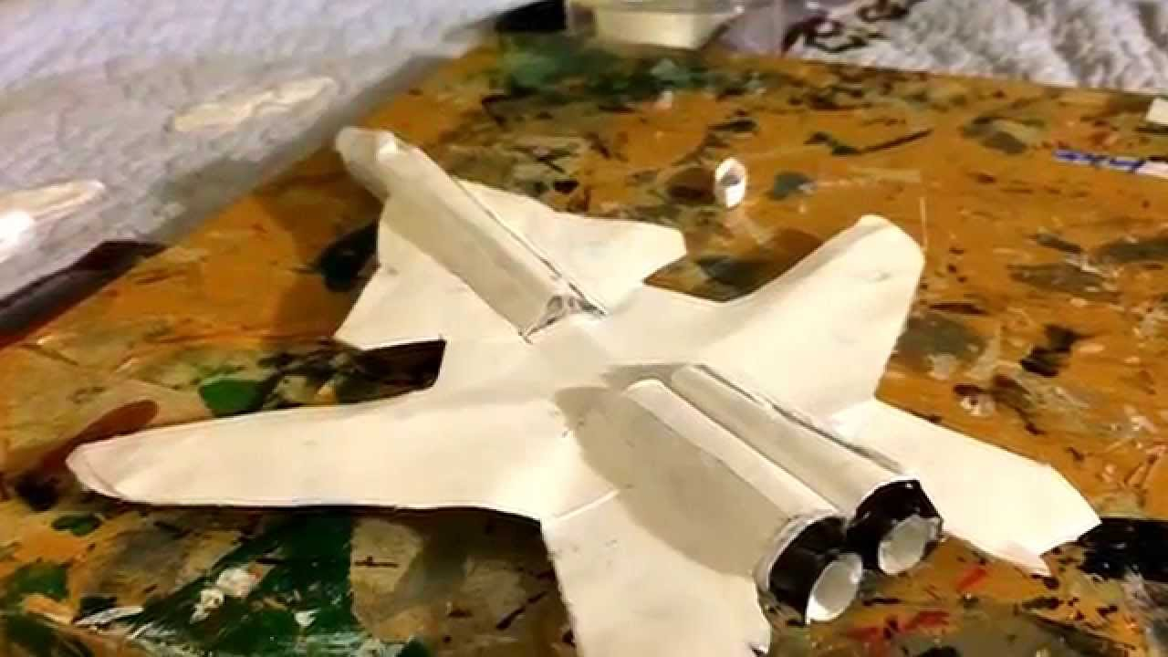 Papercraft Su-47 Paper Model-alexis2012ful