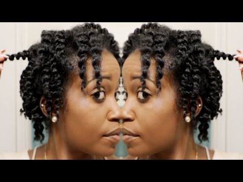 Perfect Two Strand Twistout For Short Medium Length Natural Hair Youtube