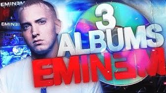 3 ALBUMS D'EMINEM - POTATOZ