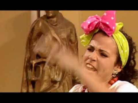 Cuqui la mora en televisión cubana.