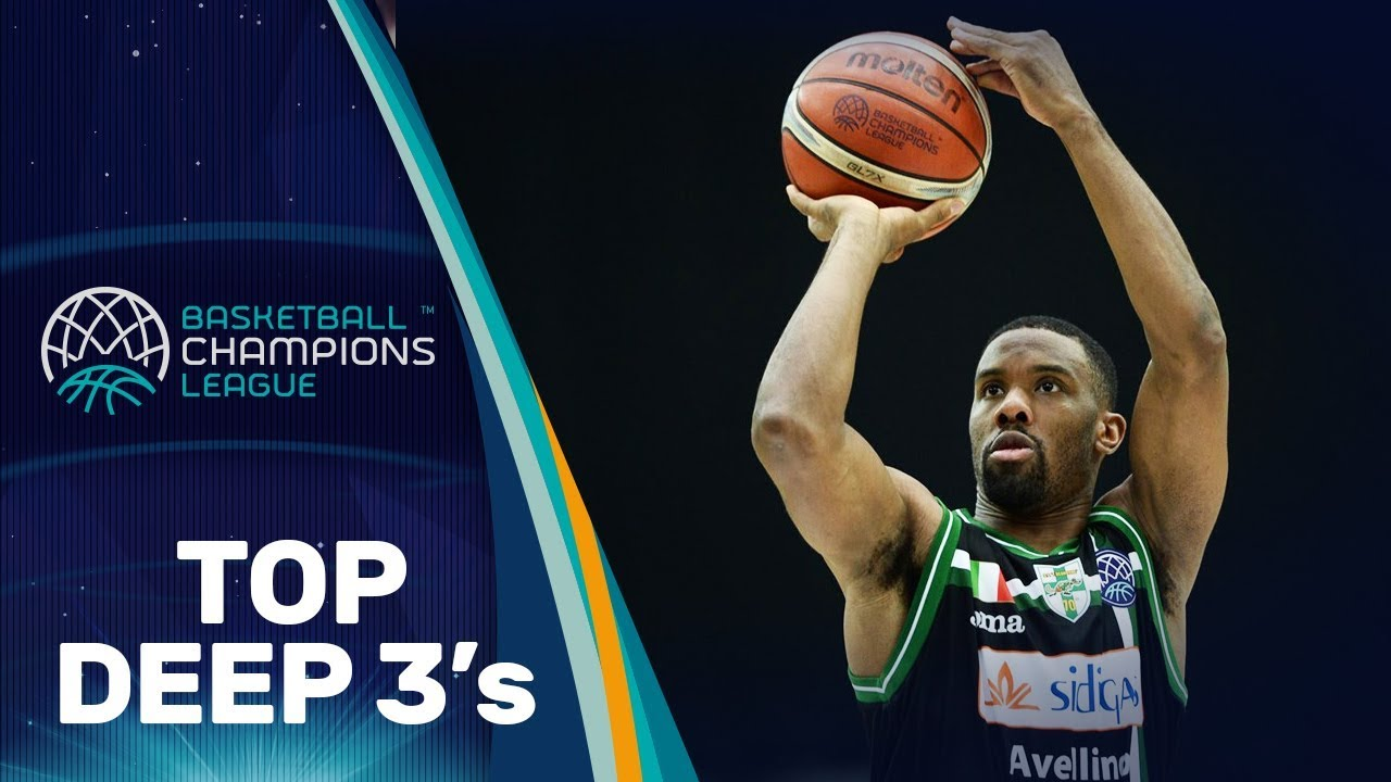 Top Deep 3's of October /w Perry, Cruz and more - Basketball Champions League 2018