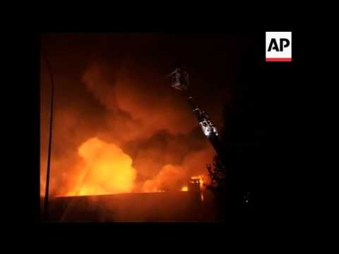 France: Paris: Blaze In Apartment Claims Lives Of Immigrant Squatters, Various Buildings Torched In
