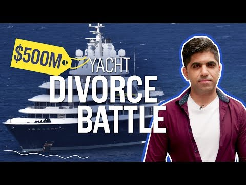 Why a $500 million yacht is in the middle of a Russian billionaire's divorce | CNBC Reports