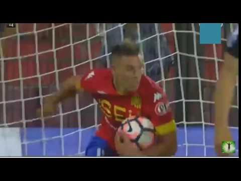 Gol de Diego Churin - Union Española 1 x 1 The Strongest - Copa Libertadores