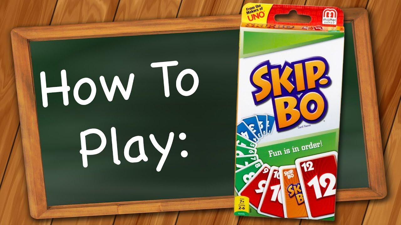 How To Play Skip Bo Youtube