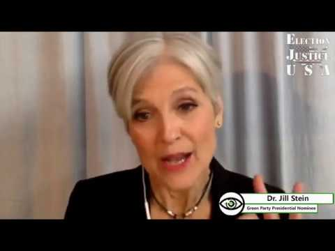 Election Justice Interviews Jill Stein