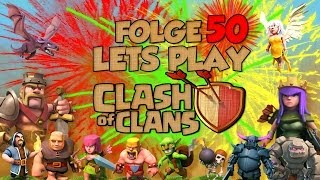 "[Folge 50. ""mein Dorf""] Let´s Play - Clash of Clans [German/Deutsch]"