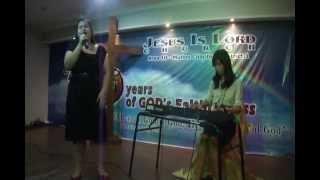 Sambahin Ka- by Musikatha Pagsambang Wagas album Cover by Vivian Joy dela Calzada