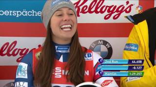 Winter Champions Series: Erin Hamlin Secures Luge Gold In Park City