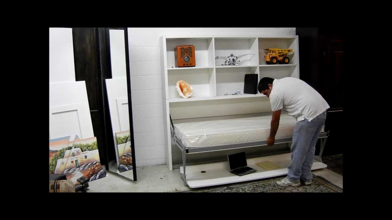 "Joker"" Desk & Bed from Smart Beds of Italy - YouTube"