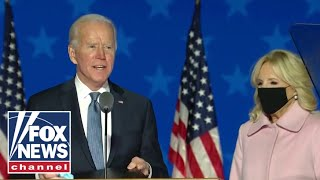 Biden campaign responds to Trump's election claims calling them 'outrageous'