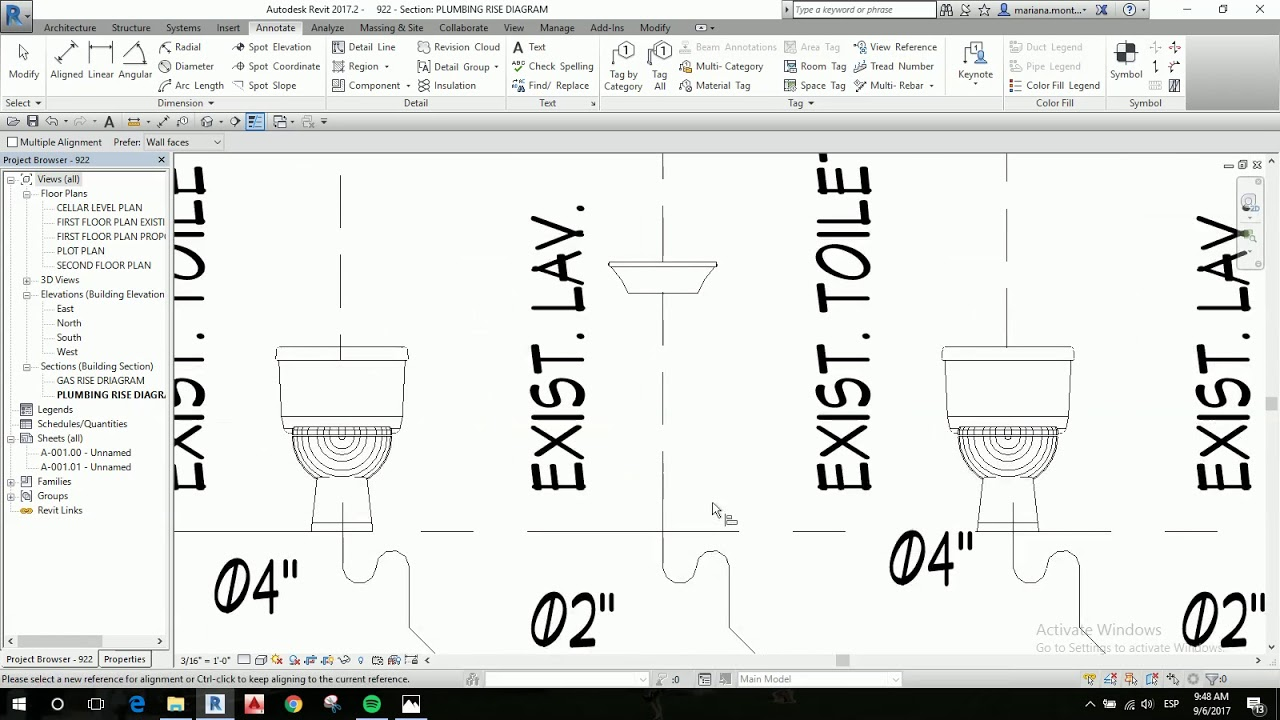 small resolution of plumbing rise diagram