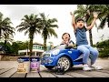 Drive away Friso Powered Ride-on Car at Sentosa Cove