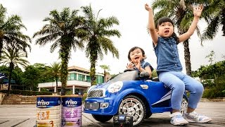 Drive away Friso Powered Ride-on Car at Sentosa Cove(The FRISO milk powder brand always gives the impression as clean, not too thick or not too bland, and professional in its milk processing. After some reading, I ..., 2016-05-15T16:48:28.000Z)