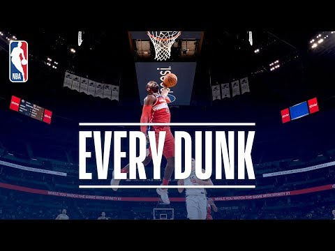 John Wall, Joel Embiid, And The Dunks From Monday Night