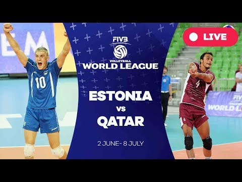 Estonia v Qatar - Group 3: 2017 FIVB Volleyball World League
