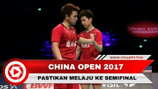 Marcus/ Kevin Masuk ke Babak Semifinal China Open 2017