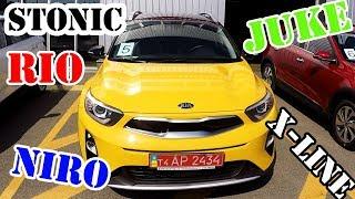 VLOG: KIA Stonik, RIO X-Line, Niro hybrid и Nissan Juke. Блиц Тест-драйв