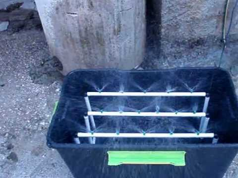 homemade aeroponic cloner youtube. Black Bedroom Furniture Sets. Home Design Ideas