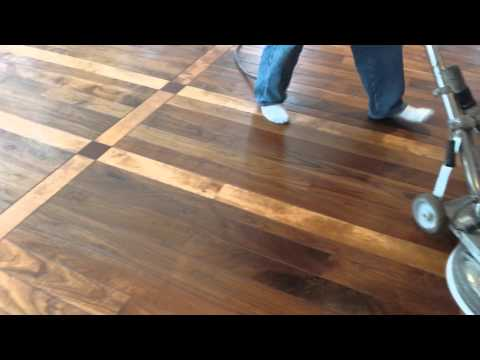 Buffing Wood Floor Buffing Wooden Floors Youtube