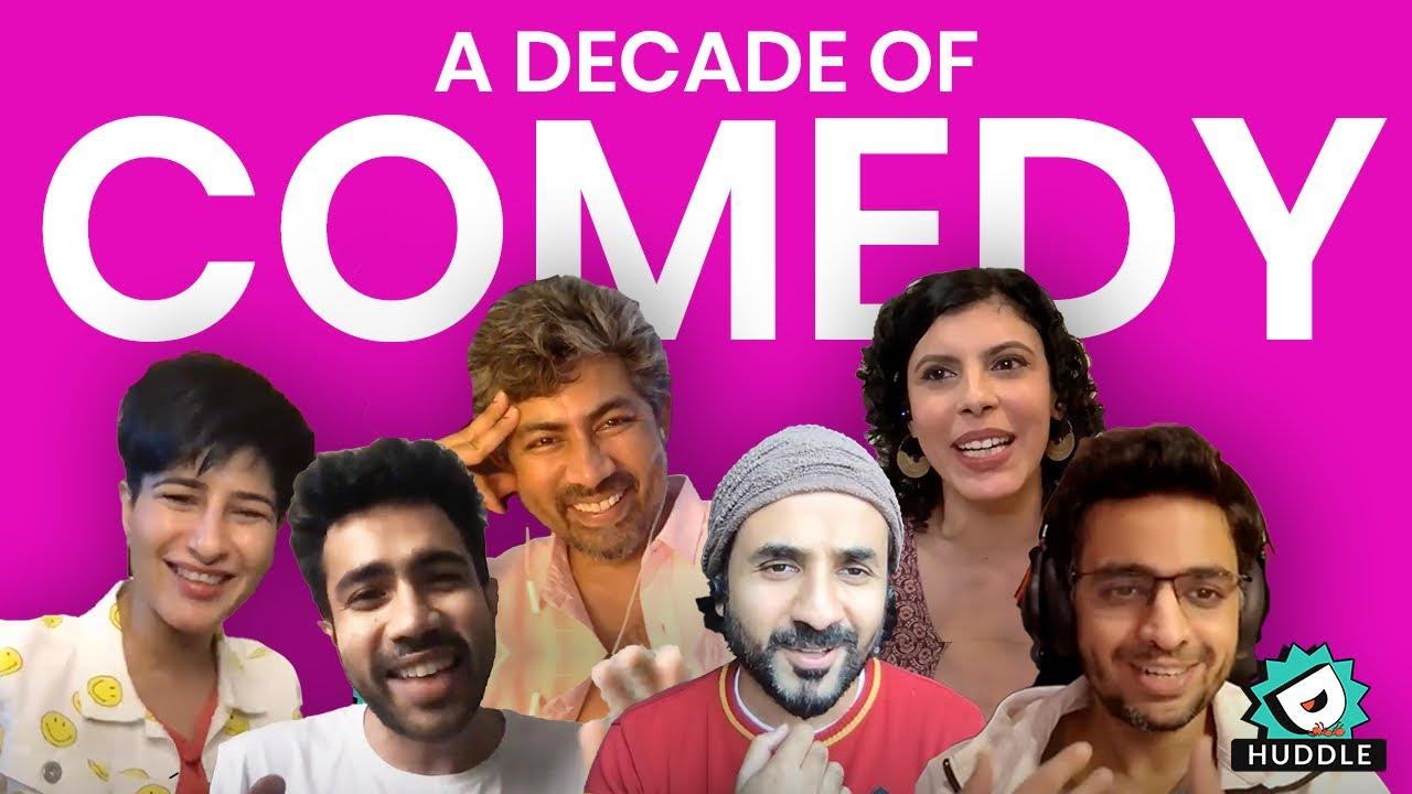 Download A Decade Of Comedy ft. Vir Das, Abhishek Upmanyu, Rohan Joshi, Anu Menon, Neeti Palta, Karthik Kumar