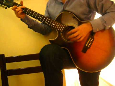 Killing me softly with his song guitar instrumental