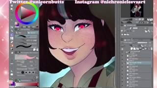 Draw yourself as a Disney Villain |Speed Paint|