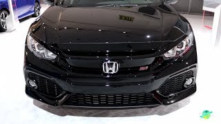 2018 Honda Civic Si Exterior and Interior Walk around LA Auto Show