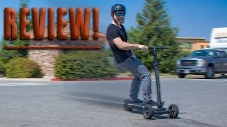 Street surfing with the Cycleboard Elite electric scooter: Unboxing, ride and review