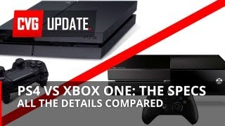 PS4 vs Xbox One: ALL the Specs
