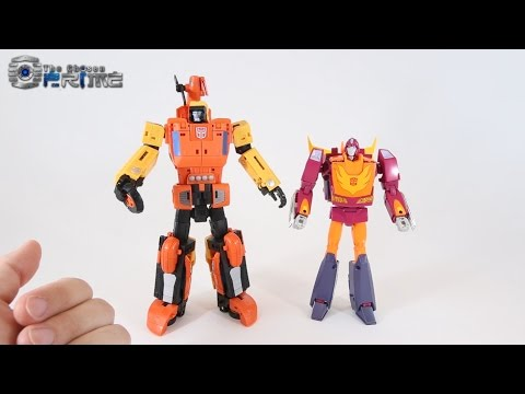 Unique Toys Y-03 Sworder - Sandstorm Review & Instructions