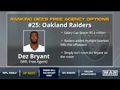 Could The Oakland Raiders Try To Sign Dez Bryant