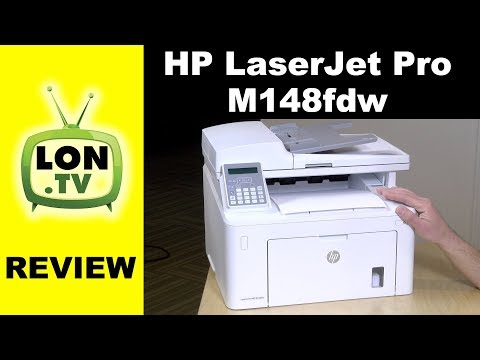 HP Laserjet Pro M148fdw Review - $149 Laser Multifunction Printer/Copier/Fax