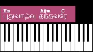 Puthu Valvu Thanthavare Song Keyboard Chords and Lyrics - Fm Chord