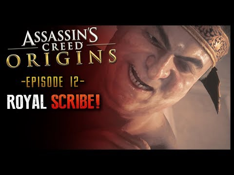 Assassin's Creed Origins Part 12 The Royal Scribe