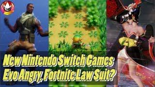 Nintendo Direct Game Reveals, Fortnite Copy-Right Dances, Evo Apologizes for Stream   NYM Recap